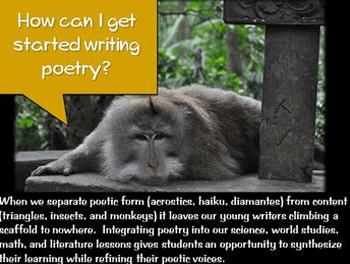 Poetry: Snapshot Writing to Improve Literacy and Cross-Content Areas - Free overview